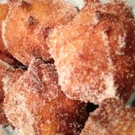 Mascarpone stuffed beignets